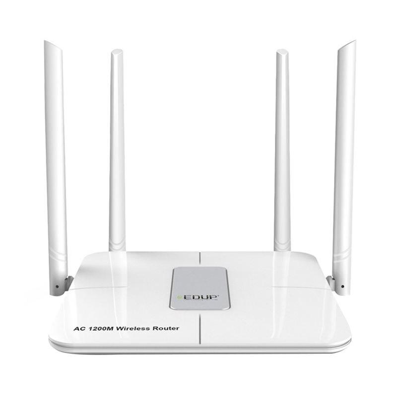 EDUP 5Ghz Wifi Router 1200Mbps Wireless Wlan Wifi Repeater 802.11Ac Wifi Range Extender 4 x 5Dbi Antenna Wifi Amplifier Eu Plu(China)