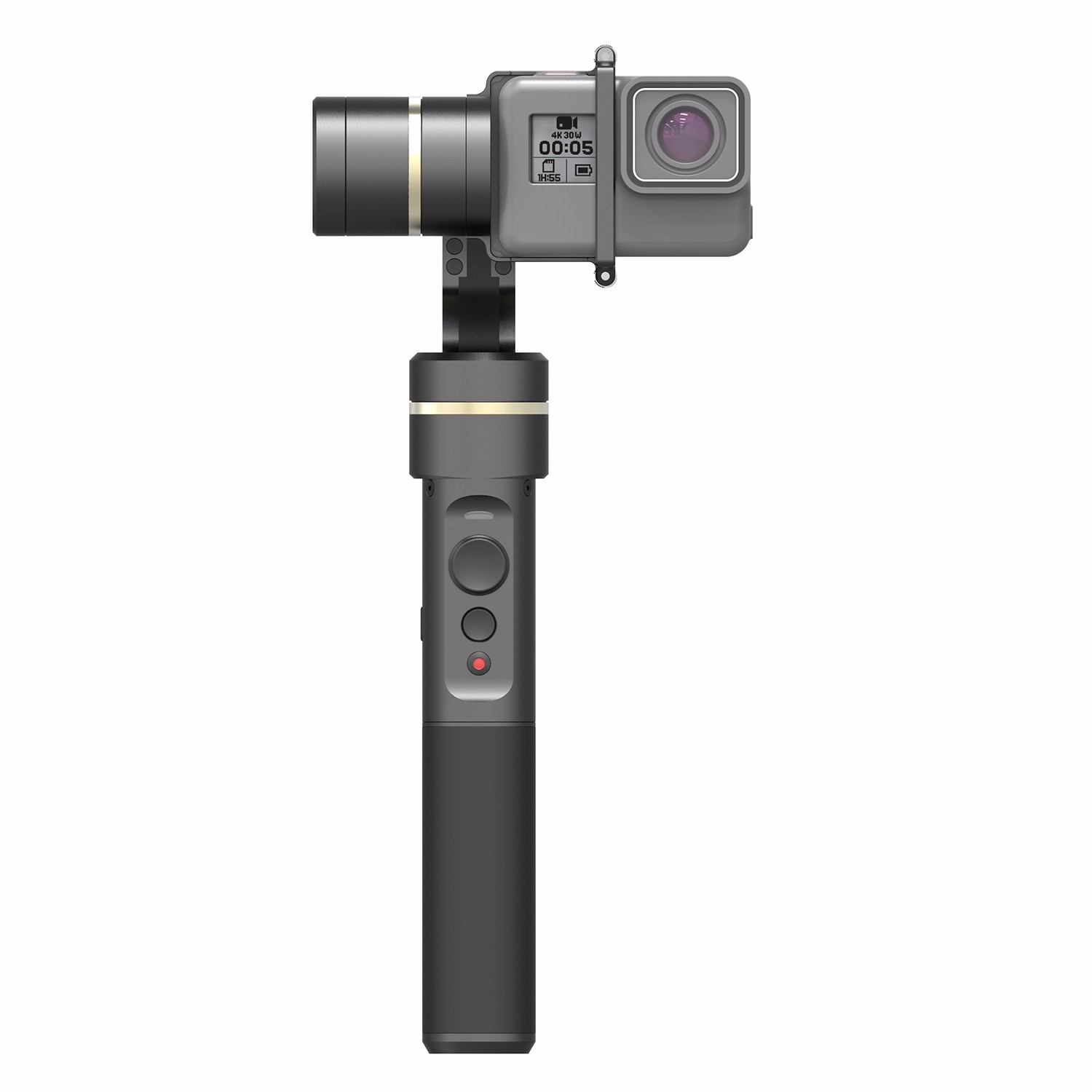 цена на Feiyu G5 fy g5 3-Axis Splash-Proof Handheld Gimbal for GoPro HERO5 HERO 5 4 3+ 3 feiyu g4 g4s update version