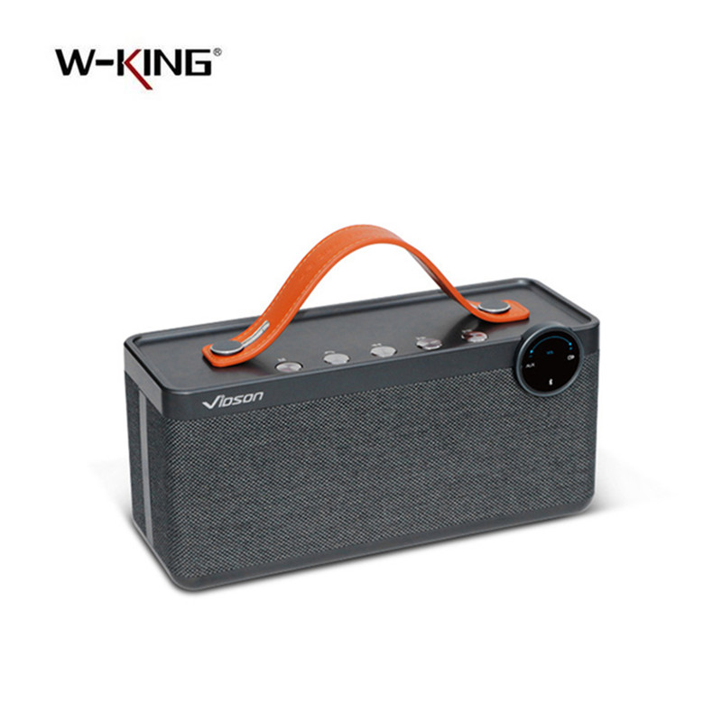 W-king APP Speakers Portable Wireless Bluetooth Speaker Bass Sound Subwoofer Wireless Sound Box 25W Powerful Bluetooth Speakers 100% original sardine sdy 019 altavoz bluetooth speaker wireless hifi portable subwoofer speakers music sound box with fm radio