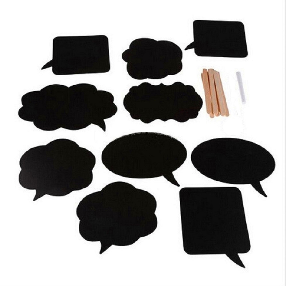 Photo Booth Props Chalk Board 10pcs Photo Booth Prop Diy