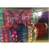 1pc Inflatable Touch Ball Bubble Football Big Inflatable Earth Ball Diameter Of 1.5 Meters Inflatable Bubble Pvc Touch Ball
