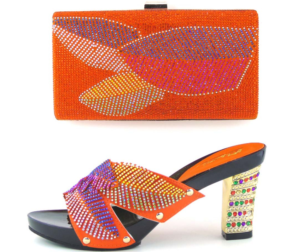 ФОТО Shoe And Bag Set For Wedding And Party Lady Dress Hot Selling African Shoe And Bag To Match Italy Shoes And Bag TH16-42