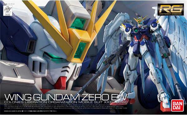 "BANDAI RG 1/144 חדש נייד דו""ח Gundam XXXG-00W0 W-GUNDAM אפס Custom אפקטים פעולה איור דגם שינוי"