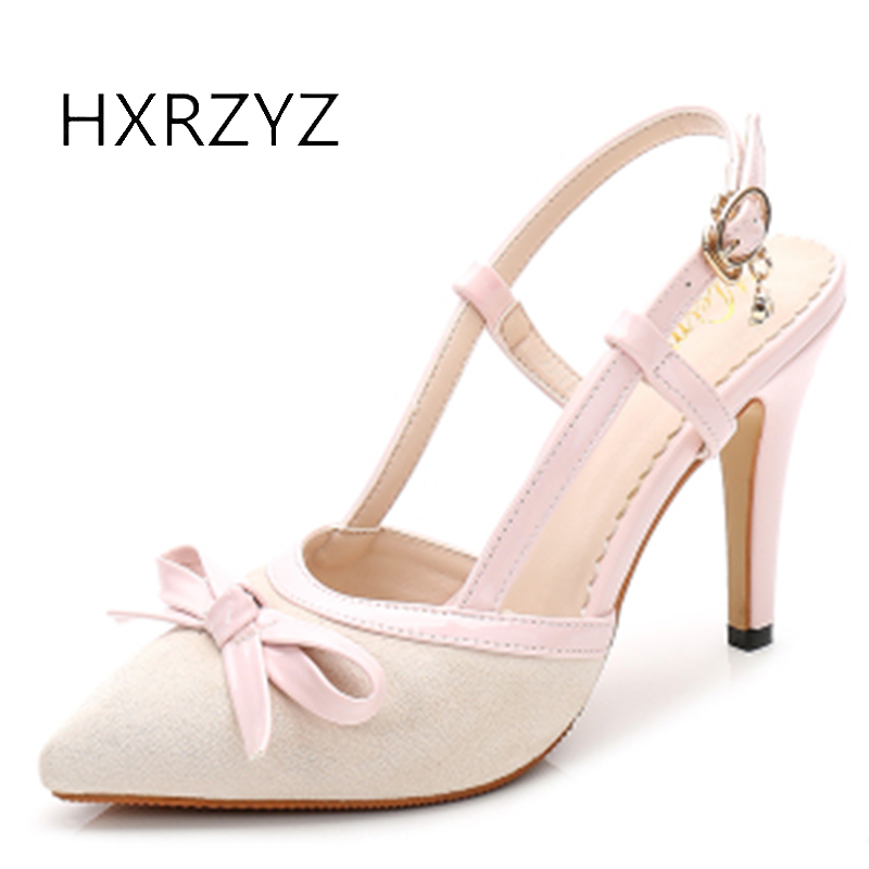 HXRZYZ women high heels suede bow tie dress shoes female pointed toe high heel shoes shallow mouth thin heels shoes women pumps burgundy gray saphire blue pink women dress party career work shoes flock shallow mouth stiletto thin high heel pumps