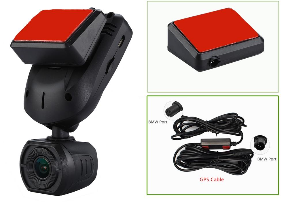 Conkim Nieuwe Collectie Mini Q9 Dash Camera Auto DVR Condensator 1296P 1080P Full HD Verborgen Auto Camera GPS LDWS Parking Modus + 32GB TF - 5