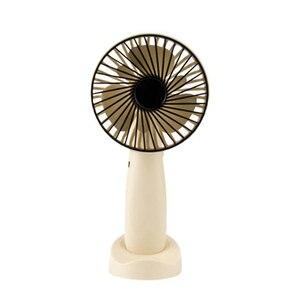 Image 1 - Mini Portable Hanging Usb Charging Fan Rotating Handheld Desktop Cooling Fan Cooler Mobile Phone Holder