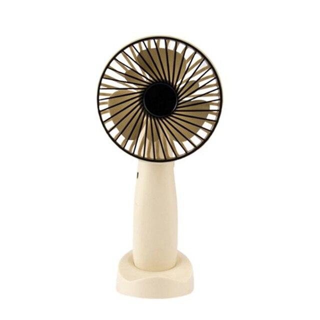 Mini Portable Hanging Usb Charging Fan Rotating Handheld Desktop Cooling Fan Cooler Mobile Phone Holder