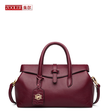 ZOOLER New arrival genuine leather handbag Top quality shoulder bag fashion luxury brand woman design  crossbody bag#BC-8133