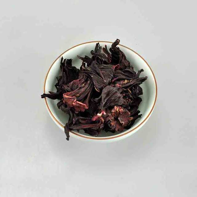 30g Natural Sulfur Free Loose Weight Dried Flowers Hibiscus Tea Top