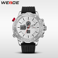 Weide Top Brand Luxury Automatic Watch Military Led Shockproof Waterproof Watch Dress Watch Fashion Casual Watch