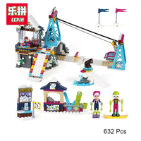 Lepin 01042 Genuine Friends Girls Series Stephanie S House Set Building Blocks Bricks Compatible With Lego
