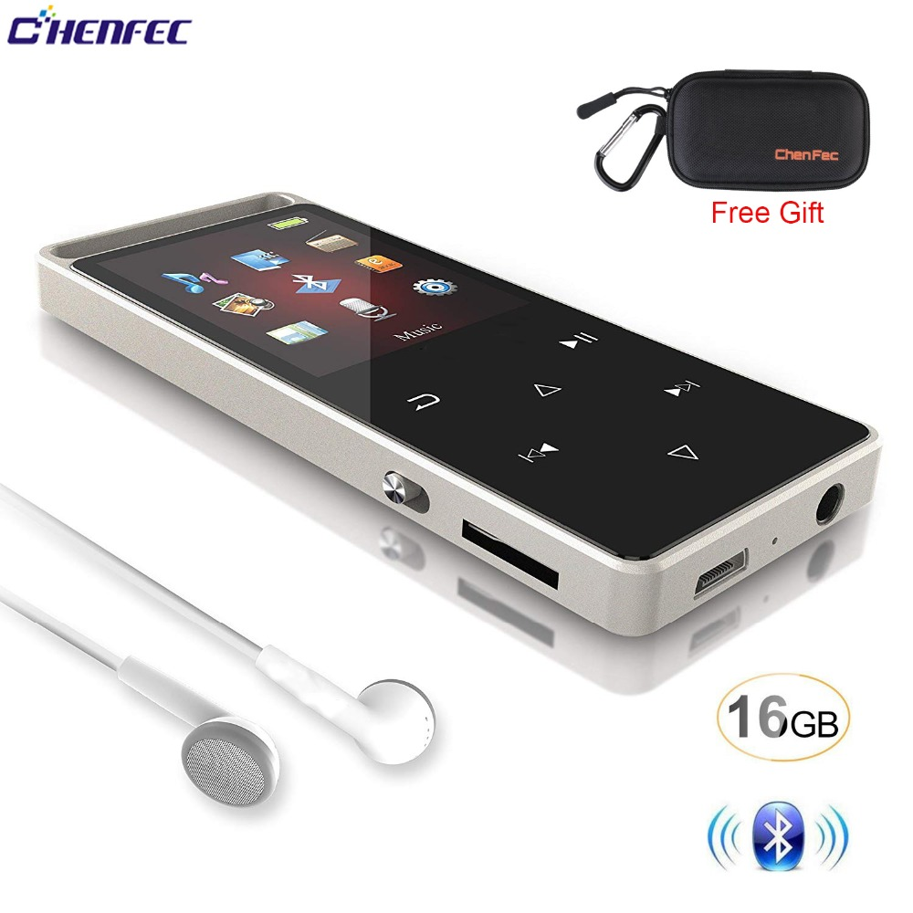 Mp3 player Fm Bluetooth with 16GB sound Player Sport Pedo Meter mp3 music player FM video clock support 32gb SD Card player vdp club