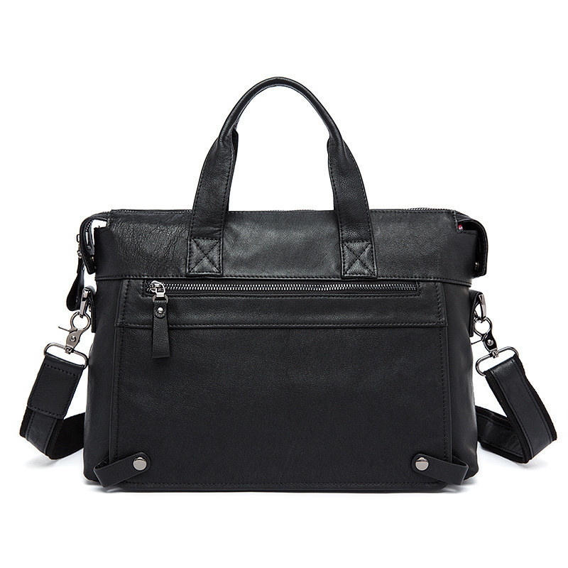 Genuine Leather Men Bag Business Briefcase Messenger Handbags Men Crossbody Bags Men's Travel 14