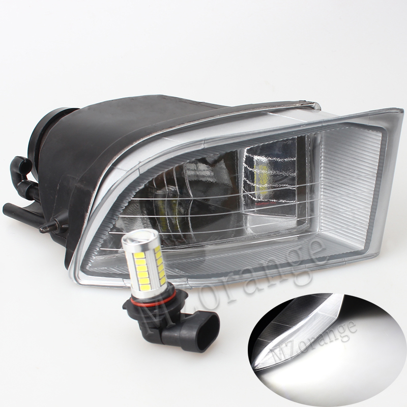 MZORANGE For Toyota PRADO 120 2700/4000 Land Cruiser LC120 2002 2003 2004 2005 2006 2007 2008 2009 Front LED Fog Light Fog Lamp novsight car led headlights assembly headlamp projector drl fog light daylight for toyota prado 2004 2009