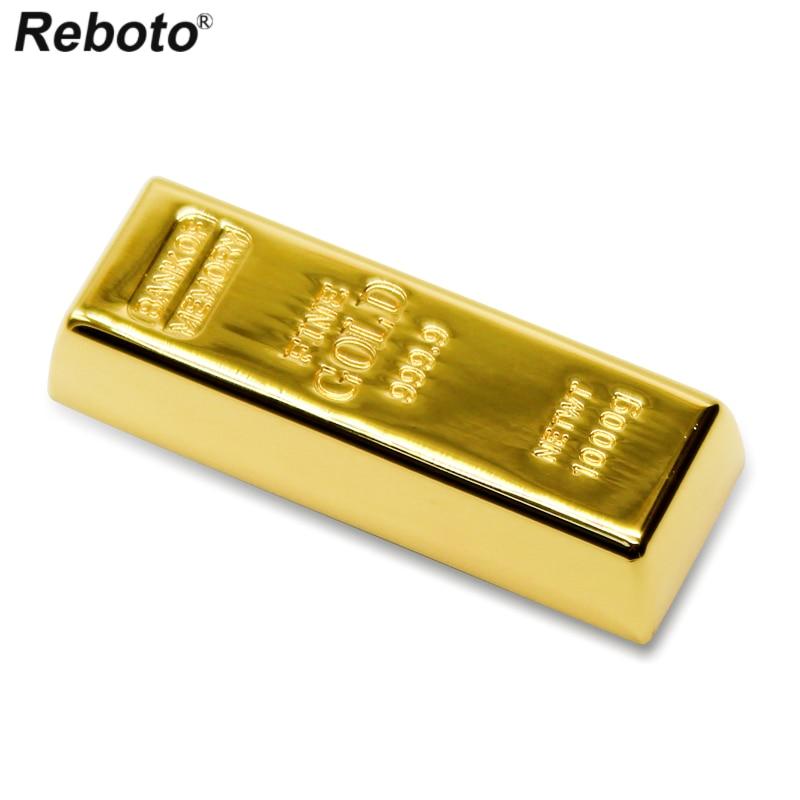 USB zibatmiņas zelta stienis usb Disk 4GB 8GB 16GB 32GB 64GB pildspalva Drive Memory Stick pendrive usb stick u disk
