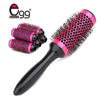 Aluminum Round Brush Set Thermal Ceramic Round Comb Detachable Hair Brush 45mm Hairdressing Hair Salon Styling Barrel Curling