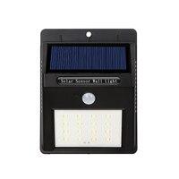 Водонепроницаемый 16 Солнечный свет солнечных Мощность движения PIR Сенсор свет сада Открытый Путь чувство Солнечная Светодиодные лампы сте...