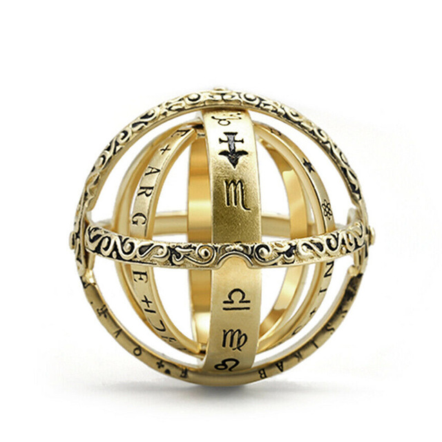 Astronomical Ball Pendant Ring 1