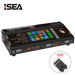 """HT206 AC/DC TRI Triple Port 200W*3 20A 4.3"""" Color LCD Touch Screen Balance Charger for Lilon/LiPo/LiFe/LiHV/Nicd/NiMh PB Battery"""