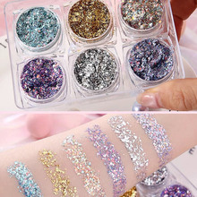 Party Makeup Eye Glitter Nail Hair Body Face Gel  Festival Decoration