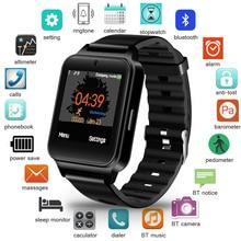 Get more info on the LIGE 2019 New Smart Watch Men Women Pedometer Bluetooth Camera Fashion Sport Fitness Watch Support SIM TF Card Reloj inteligente