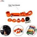 Universal motorcycle Brake clutch pump fluid reservoir tank bracket For KTM 990 SuperDuke 690 Duke 990 SMR/SUPERMOTO R 690 SMC-R