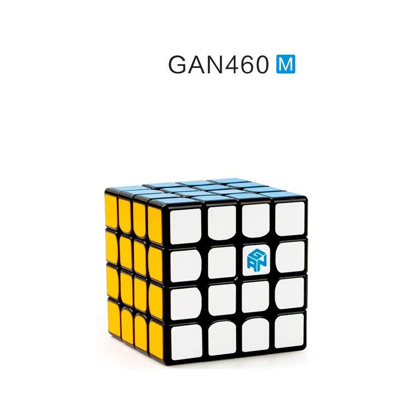 GAN 460 M Cube magnétique 4x4 magique vitesse Cubes 4x4x4 Gan 460 M vitesse Gan460M Cubo Magico 4 par 4 professionnel Puzzle jouet pour enfants