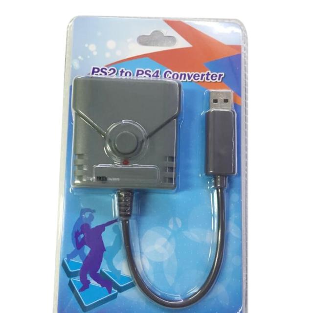 مهايئ مهايئ ألعاب USB لوحدة تحكم ألعاب PS2 لوحدة تحكم PS4 محول الكمبيوتر