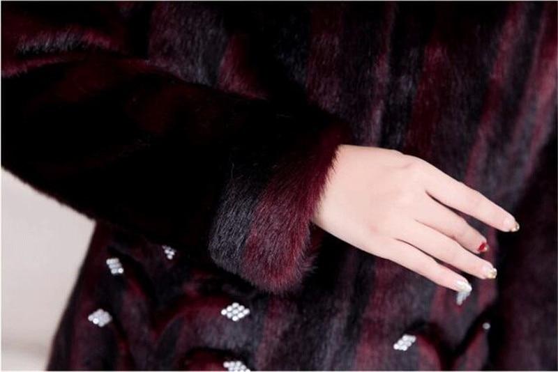 HTB1roIvKkSWBuNjSszdq6zeSpXaK 2020 Winter Women's Fur Coat Faux Mink Fur Jackets Plus size 5XL Middle aged Female Diamonds Thicken Noble Fur Coats OKXGNZ 2138