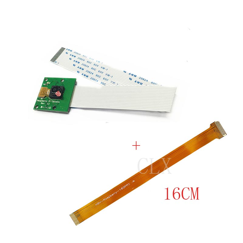 Raspberry Pi 3 Model B+(B Plus) Camera 5MP Mini Webcam With 16cm FFC Cable Suitable For Raspberry Pi 3/Raspberry Pi Zero W/1.3
