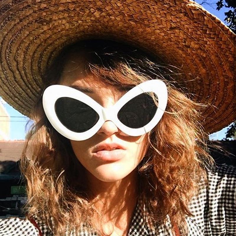 Big Cute Cat Eye Sunglasses Women Vintage Cheap Vintage Sun Glasses for Women Party Sun Glasses Accessories Gafas