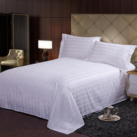 Bed sheet monopoly Household and hotel use bed sheet All cotton Satin weave sheet 250cmx250cm/250cmx270cm For adults