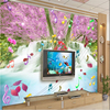 Large Custom Wallpaper Warm And Beautiful Notes Alpine Water TV Backdrop Papel De Parede Infantil Menino
