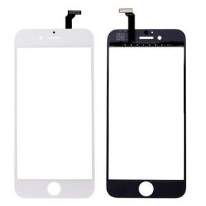 Image 5 - Nowy czarny biały ekran dotykowy szklany panel digitizera obiektyw dla iPhone 6 6s 6S Plus tanie wyświetlacz przednia część zamienna część naprawcza