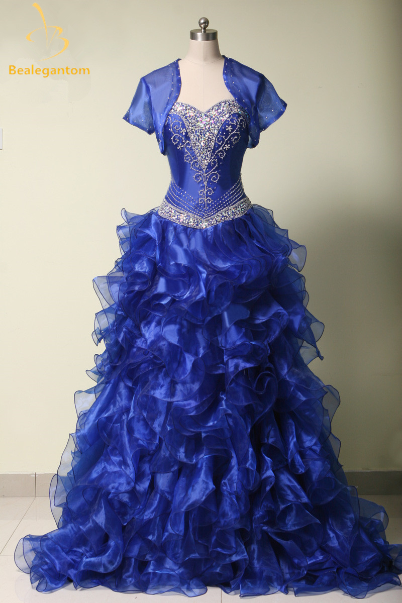 Aliexpress.com : Buy 2017 High Quality Navy Blue Quinceanera Dresses Ball Gowns Sweetheart ...
