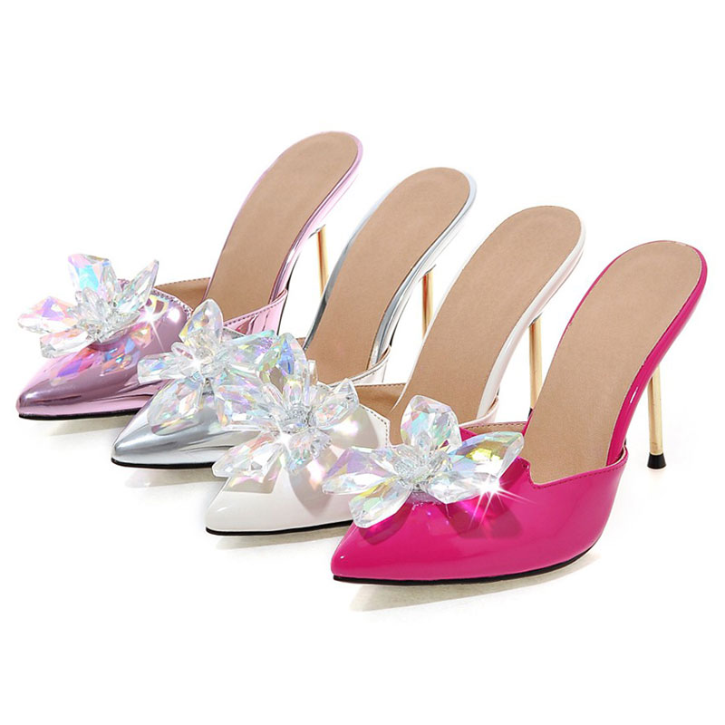 outlet store 79bc9 3b084 2018-Daidiesha-Summer-Shoes-Ladies-Mules-Shoes -Crystal-Pointed-toe-women-s-high-heels-Ladies-Party.jpg