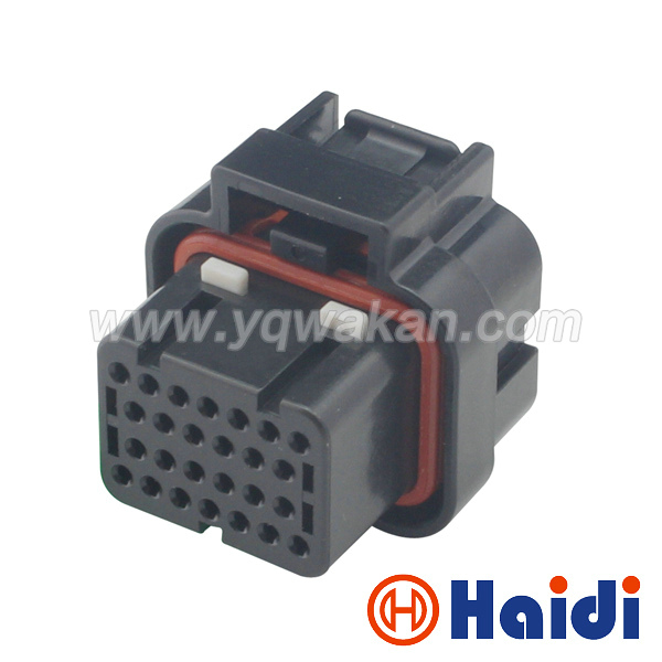 Free shipping 26pin tyco auto computer ECU connector, 26 way oil gas connector 3-1437290-7 free delivery car engine computer board ecu 0261208075