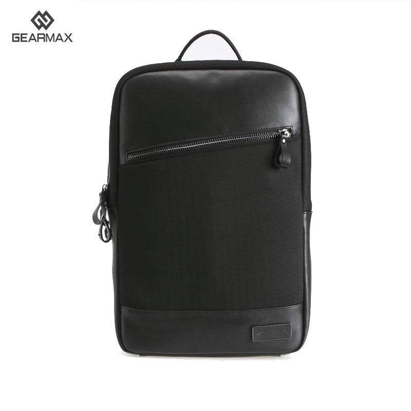 GEARMAX Newest Fashion School Backpack for Dell Inspiron 14 15.6 Leather Laptop Bag for Lenovo 15 Backpacks for MacBook Pro 15.4 dell inspiron 14 5443 5447 5448 5445