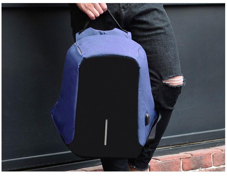 Sac à dos pour ordinateur portable USB 9