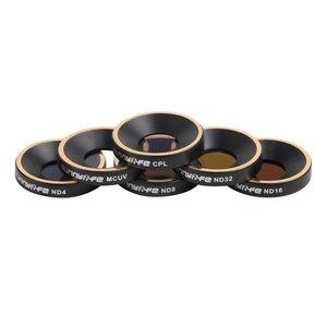 Image 1 - Conjunto de acessórios para drone, conjunto de acessórios para drone mcuv cpl nd4 nd8 nd16 nd32 filtro de lente do nd