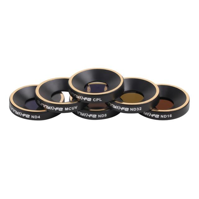 新アップグレード mcuv cpl ND4 ND8 ND16 ND32 レンズフィルターバンドルキットオウム anafi カメラドローンアクセサリー uv nd レンズフィルター