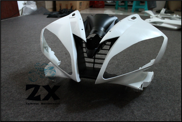 Complete Fairings For Upper Front Head Fairing Cowl Nose Cowl For YAMAHA YZF R6 2006 2007 unpainted ZXMT R6 kemimoto r6 motorcycle complete full set of fairing bolts bolt kit body screws for yamaha yzf r6 2006 2007 r6