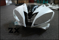Complete Fairings For Upper Front Head Fairing Cowl Nose Cowl For YAMAHA YZF R6 2006 2007 unpainted ZXMT R6