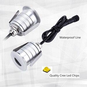 Image 5 - 6 ADET 1W LED Gömme Led merdiven lambası DC12V Kapalı Köşe Duvar Işıkları Su Geçirmez Adım Dekorasyon Lambası Koridor Merdiven Lambaları