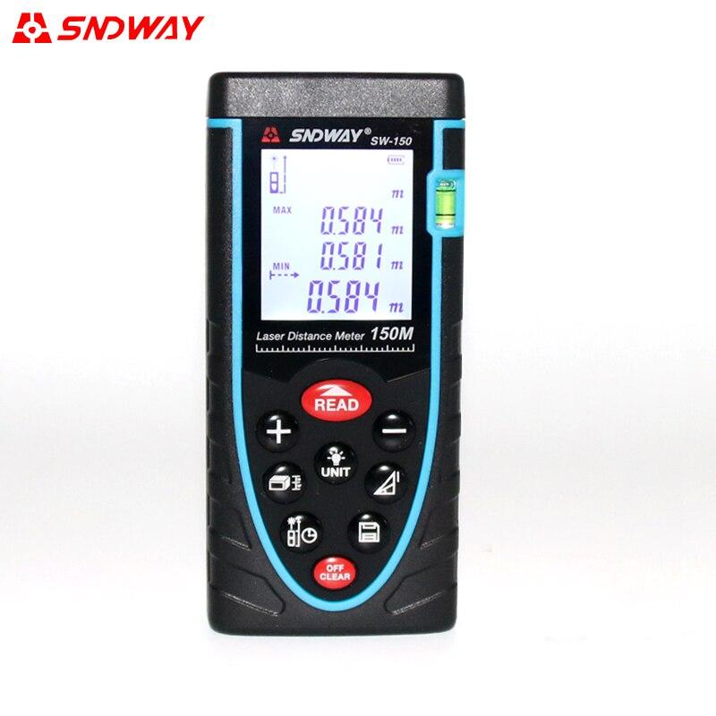 SW-80 Digital Laser Distance Meter laser rangefinder distance tester Area/Volume M/Ft 80M 100M 120M 150M  цены