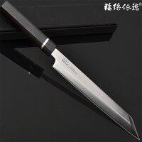 Professional Sashimi Kitchen Knife High Quality Germany Steel Knife Gift Box Japanese Style Sushi Knife Free