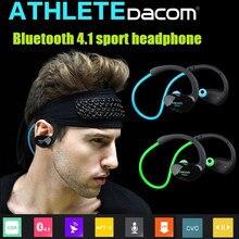 Original Bluetooth 4.1 Headset Sports Dacom Athlete Bluetooth Earphone for Phone Stereo Wireless Headphone w/  HD Microphone NFC