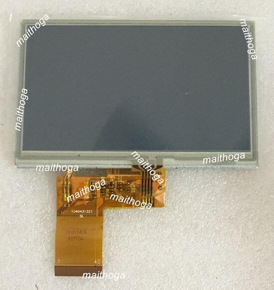 4.3 inç 40PIN TFT LCD ortak ekran dokunmatik Panel ile ST7282 denetleyici 480(RGB)* 272