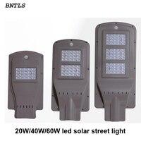 20 w 40 w 60 w LED الشمسية الشارع إضاءة خارجية مضادة للماء IP65 البير محس حركة إضاءة ذكية|مصابيح الطاقة الشمسية|   -