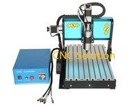 3 Axis 800W CNC Router 3040 Limited Switch USB Control Box 0.8KW Water Cooling Mini Engraving Machine Wood Carving